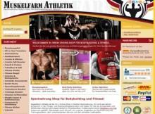 Sportnahrung-Shop für Bodybuilding und Fitness
