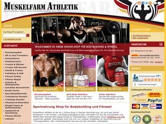 Feldpost Shop von Muskelfarm Athletik