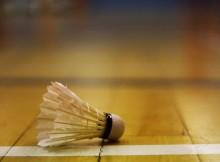 Badminton spielen