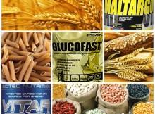Kohlenhydrate aus Getreide, Hülsenfrüchte, Nudeln