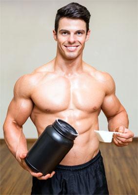 Anabole Proteine als Sportnahrung